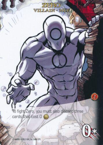 ZERO 2014 Upper Deck Marvel Legendary MLF