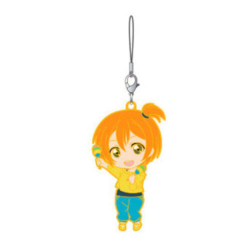 3 NEW Love Live Rin Nendoroid Plus Rubber Phone Strap Vol