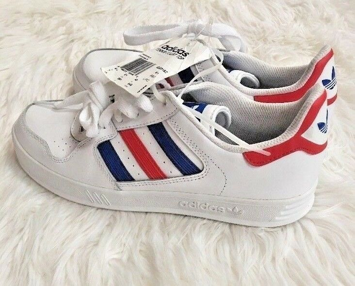 574dc0d61d1 New adidas originals shoes Sneakers Tennis Court Top Red bluee Men 7 NWT  Stripe nphqpf7714-Athletic Shoes