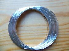 SILVER PLATED WIRE FOR VIOLIN/CELLO BOWS, CRAFTS OR JEWELRY, APPRX 20 METERS!