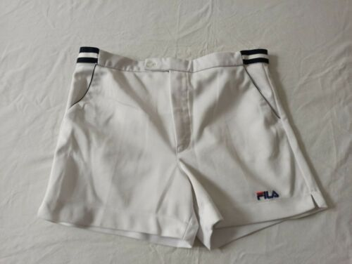 Fila vintage 80 's tennis shorts , size 32