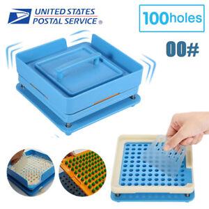 Capsule-Filling-Machine-100-Holes-Capsule-Filler-Size-00-Flate-Maker-Food-Grade