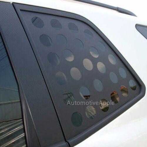 Quarter Glass Carbon Fabric Decal Sticker For 2017 Kia Sportage
