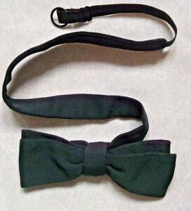 Acheter Pas Cher Vintage Bow Tie Homme Dickie Nœud Papillon Rétro Réglable Simple Noir-afficher Le Titre D'origine