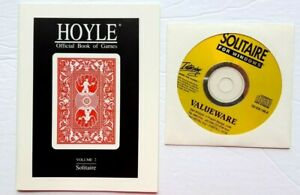 1992-Hoyle-Solitaire-ll-manual-amp-Interplay-disc-by-Sierra-games-for-windows-PC