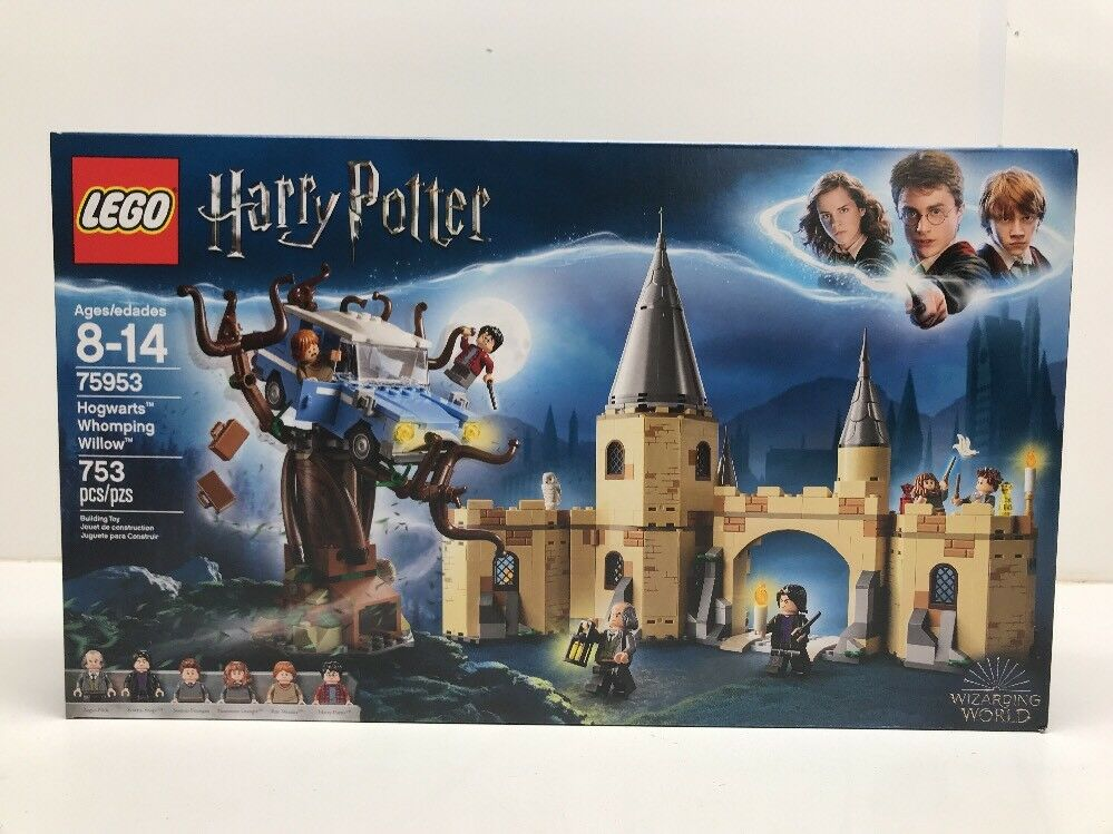 NEW NIB LEGO Harry Potter 75953 Hogwarts Whomping Willow In Hand NISB Sealed