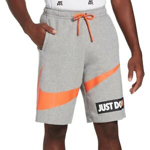 Nike-Men-039-s-Sportswear-Just-Do-It-Shorts-New-with-Tag