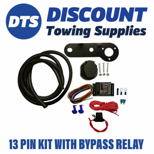 Smart 13 Pin Electric Towbar Wiring Kit Inc Bypass relay