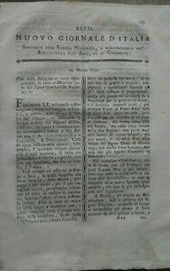 1795-NUOVO-GIORNALE-D-039-ITALIA-COLTIVAZIONE-DEI-CILIEGI-MACCHINA-A-VAPORE-DI-WATT