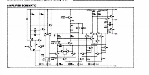 1x CMP05GZ High Speed Precision Comparator CMP05