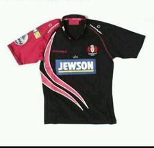 Boys Large Kooga Gloucester Rugby Football Club Jersey Pink/Black Jewson Downton
