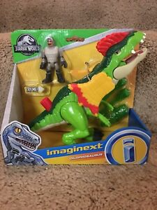 80bbf0a2b01 Image is loading New-Fisher-Price-Imaginext-Jurassic-Park-World-Dinosaur-