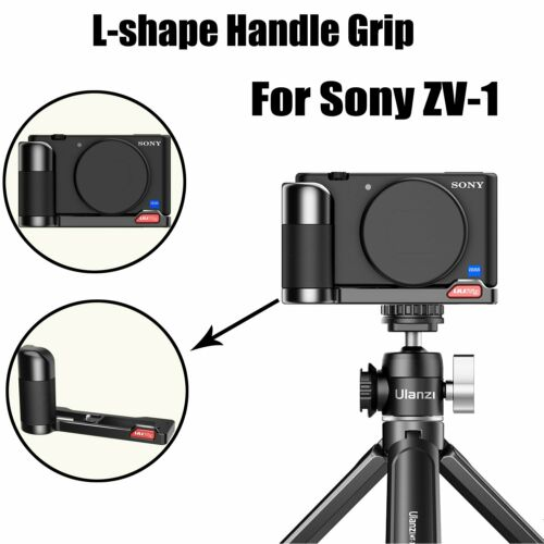 UURig R055 Cámara L-forma Empuñadura Vlog Micrófono Video Para Sony ZV-1