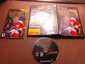 Sony-PlayStation-2-PS2-CIB-Complete-Tested-La-Pucelle-Tactics-Ships-Fast
