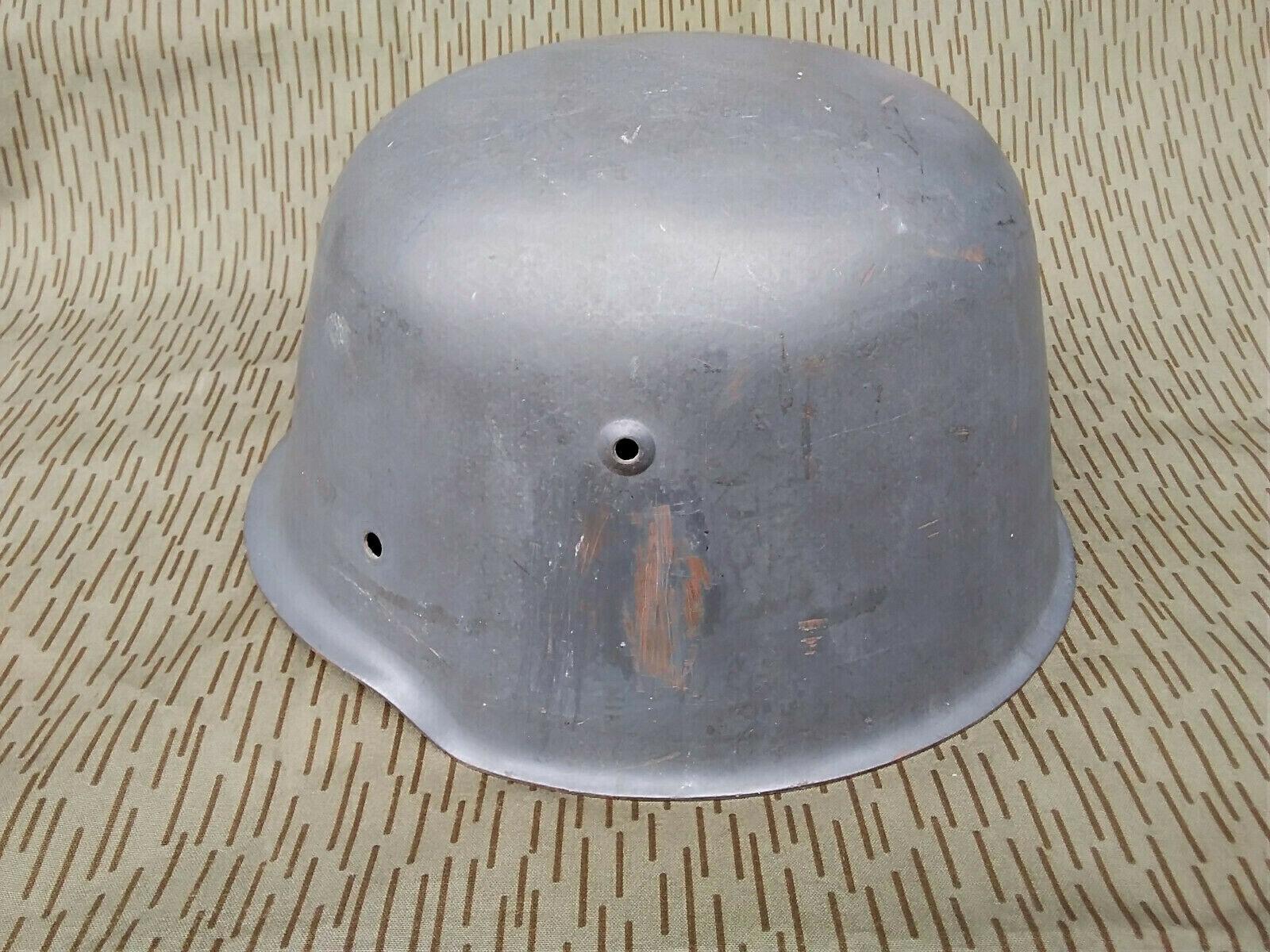 Bild 1 - DDR M54 Stahlhelm NVA KVP HELM Kessler Bombe Polizei VP