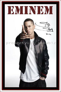 EMINEM-large-signed-poster-of-SLIM-SHADY-perfect-gift