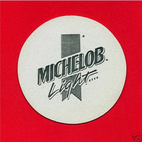 Old Michelob Light Beer Coaster Bottle Cap Opener AB