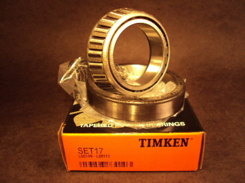 Set17 L68149//L68111 Cup//Cone Bearing set Timken Set 17