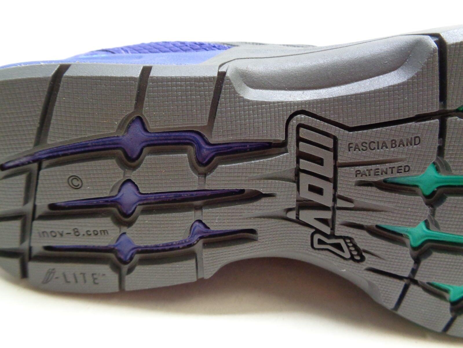 INOV-8 Größe 6 Wide F-LITE 250 STANDARD FIT Gray Purple Sneakers NEU Damenschuhe Schuhes