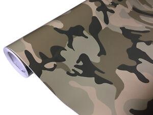 26d2290aeb24a0 Das Bild wird geladen Camouflage-Folie-20-x-1-52-meter-Luftkanaele-