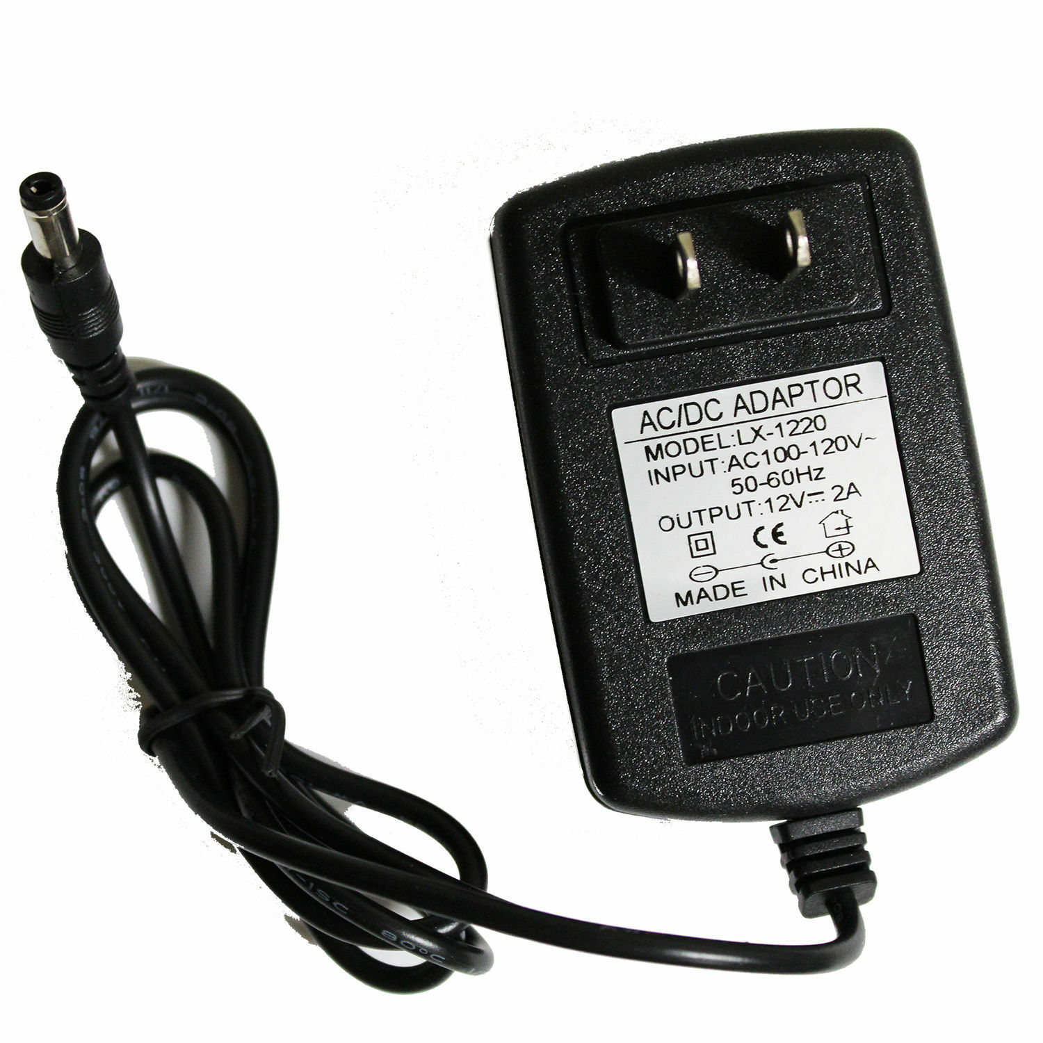 dc 12v 2a ac adapter power supply transformer for 5050 5630 3528 led strip 24w ebay. Black Bedroom Furniture Sets. Home Design Ideas