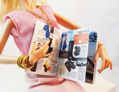 "Gene other 16/"" dolls VOGUE with Lupita Nyong/'o mini-magazine for Tonner"