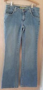 Anchor-Blue-Daisy-Medium-Wash-Boot-Cut-Jeans-Size-11-32X33