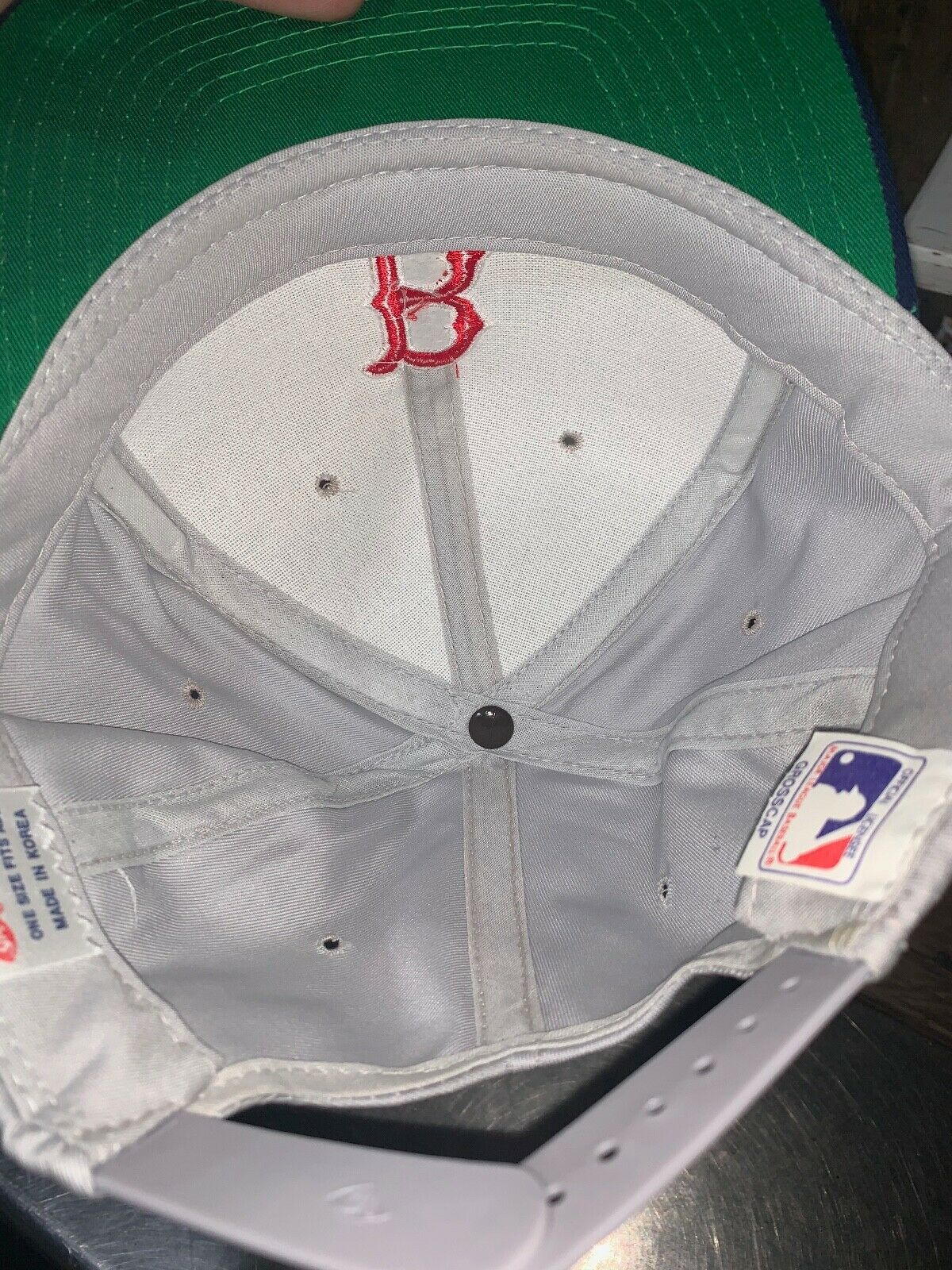 VINTAGE 80s/90s Boston Red Sox MLB Grosscap Brand… - image 9