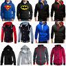 Mens Hooded Hoodie Coat Jacket Outwear Sweater Slim Fit Jumper Zip Pullover Tops