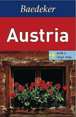 1 of 1 - Austria Baedeker Guide (Baedeker Guides): With large map, New, Baedeker Book