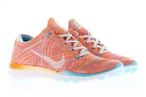 Nike WOMEN'S FREE TR FlyknitUK 4.5 EUR 38 NUOVO 718785 803