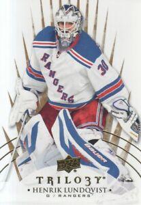 2014-15-Upper-Deck-Trilogy-Hockey-33-Henrik-Lundqvist-New-York-Rangers