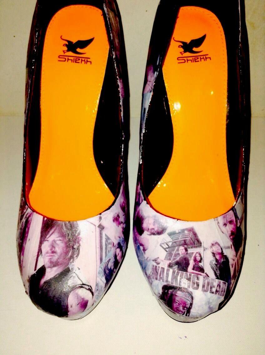 da non perdere! Custom Custom Custom Made The Walking Dead scarpe  miglior prezzo