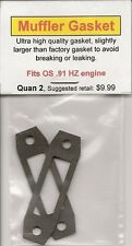 OS .91 HZ Exhaust/Muffler Gasket 2 Pack NIP