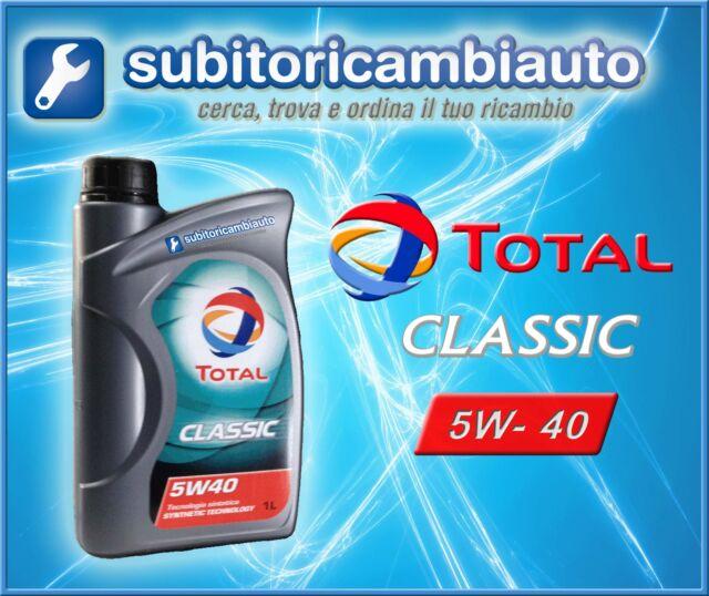 OLIO MOTORE TOTAL CLASSIC 5W40 1L