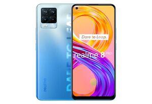 """Cellulare Smartphone Realme 8 PRO Dual Sim 128GB+8GB 6,4"""" Infinite Blue"""