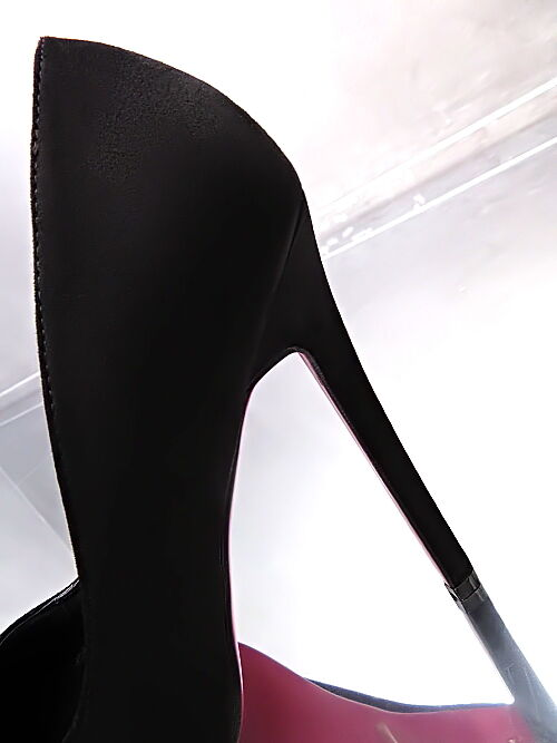 New Unique Damen M77 Sexy Classic High Heels M77 Damen Pumps Luxus Schuhe Schwarz 36 5c4e48