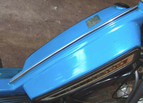 PEUGEOT 101 102 102SP 103 MOPED//SCOOTER FUEL TANK CHROME TRIM