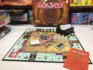 MONOPOLY-LORD-OF-THE-RINGS-TRILOGY-EDITION-REPLACEMENT-GAME-PIECES-Your-Choice