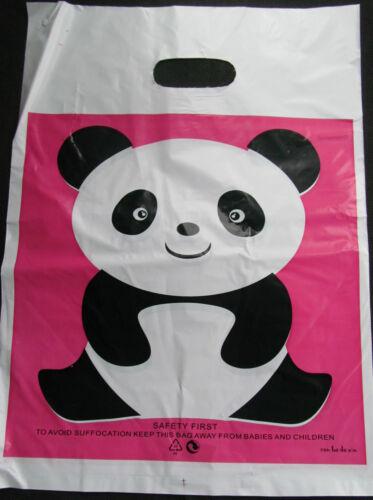 por paquete de Reino Unido 25cmx25cm Moda Regalo Tienda Plástico Portador Bolsas Bolsas de 40 diseños de 20
