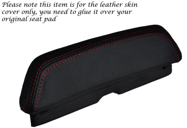 RED STITCH CUSTOM FITS LAVERDA 650 668 BACKREST PAD LEATHER SEAT COVER