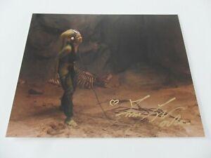 Femi Toylor (Autogrammkarte) Star Wars -als Oola in Die Rückkehr der Jedi Ritter
