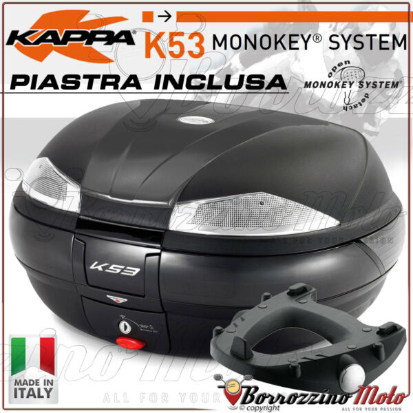 100% Waar Kit Bauletto Kappa K53 Tech + Piastra Monokey Suzuki Gsx 1250 F 2010 -2016
