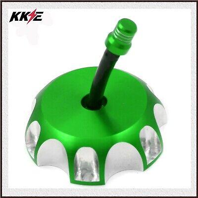 KKE KAWASAKI GAS CAP KX250F KX450F KLX450R KFX GAS FUEL CAP GREEN