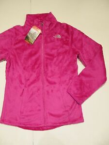 New-with-tag-NWT-Girls-The-North-Face-Luminous-Pink-Osolita-Fleece-Jacket-XL