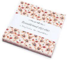 Bramblewood Moda Charm Pack 42 100% Cotton Fabric 5 Precut Quilt Squares