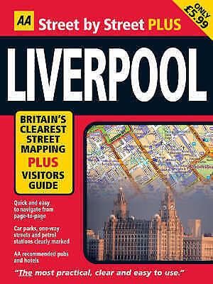 Liverpool (AA Street by Street Plus) (AA Street by Street Plus) by AA Publishing