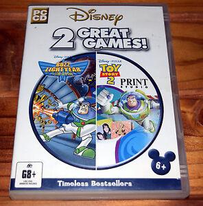 Disney-Pixar-Buzz-LightYear-Star-Command-Toy-Story-2-Print-Studio-PC-Game