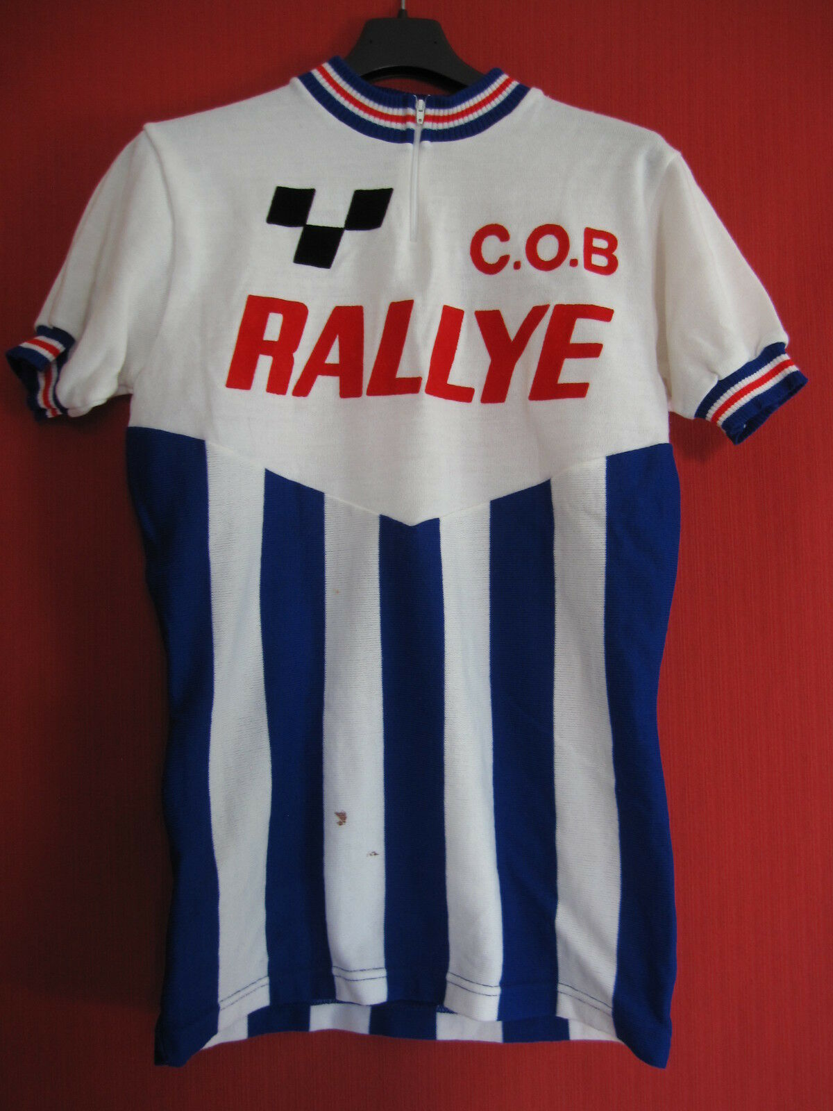 Maillot cycliste COB Rallye Vintage cycling jersey Jersey 70'S Acrylique - M
