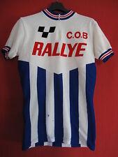 Maillot cycliste COB Rallye Vintage cycling jersey shirt Années 70 Ancien - M